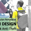 Korin Design ClickPack Anti-Theft: Pemakaian 1 Bulan